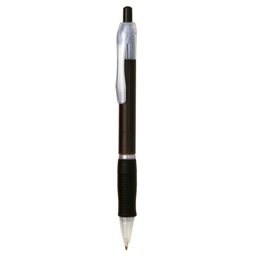 bolígrafo de plástico negro