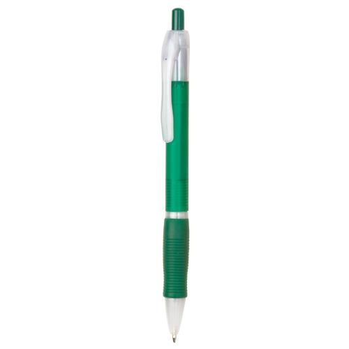 bolígrafo de plástico verde