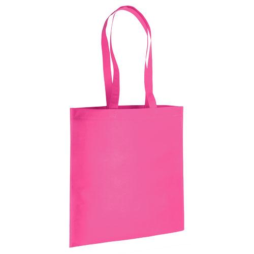 bolsa non woven rosa