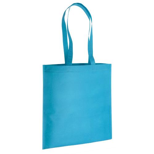 bolsa non woven turquesa