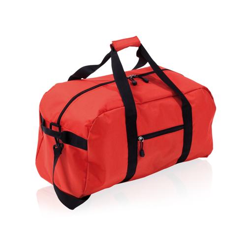 bolso de deporte rojo