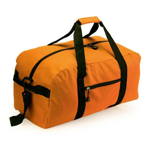 bolso de deporte naranja
