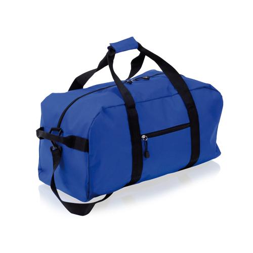 bolso de deporte azul