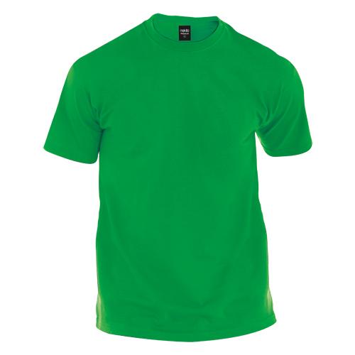camiseta de algodón verde