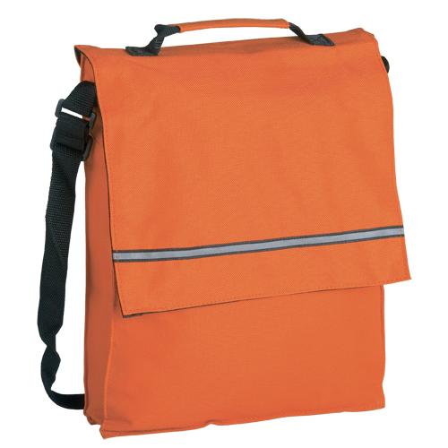 cartera bandolera naranja