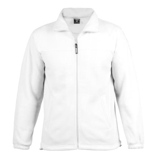 chaqueta polar blanca