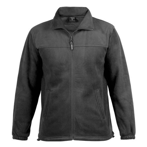 chaqueta polar negra