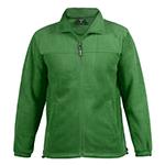 chaqueta polar verde