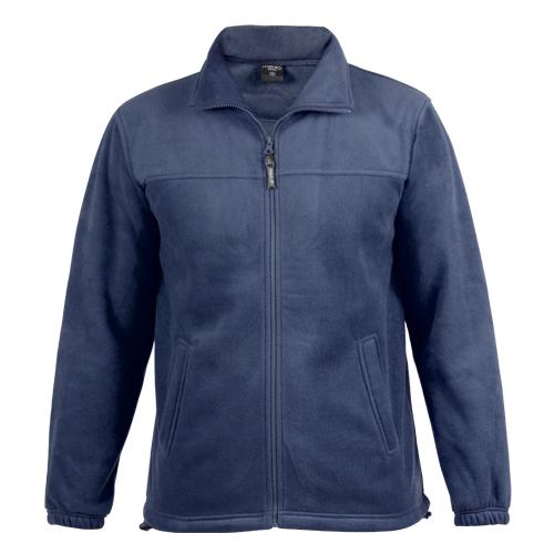 chaqueta polar azul marino