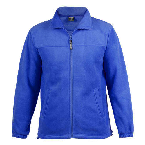 chaqueta polar azul royal