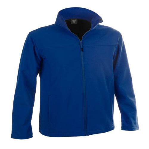 chaqueta softshell azul