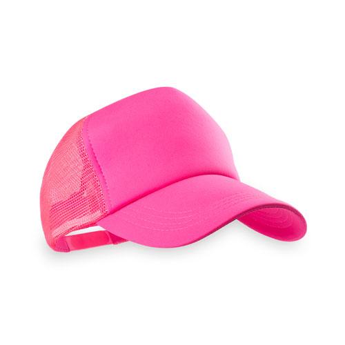 gorra adulto rosa fluor