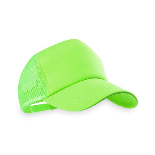 gorra adulto verde fluor