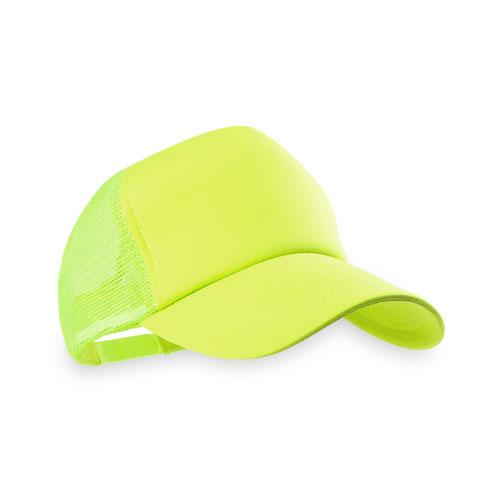 gorra adulto amarillo fluor