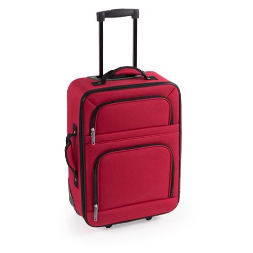 maleta trolley roja