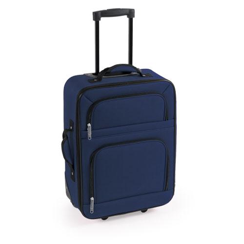 maleta trolley azul