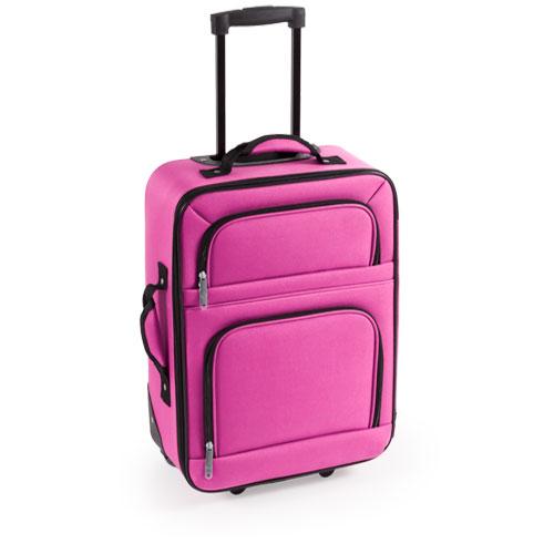 maleta trolley rosa