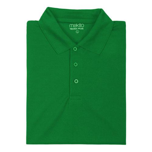 polo técnico verde