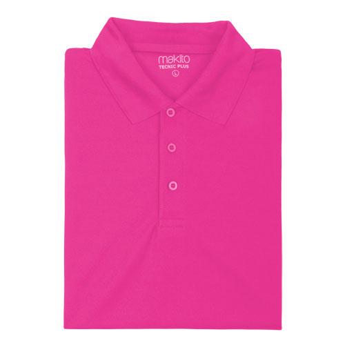 polo técnico rosa