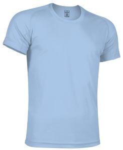 camiseta tecnica celeste