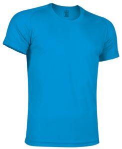 camiseta tecnica turquesa