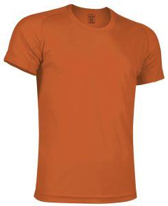 camiseta tecnica naranja
