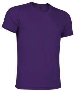 camiseta tecnica morado