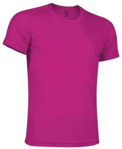 camiseta tecnica fuxia