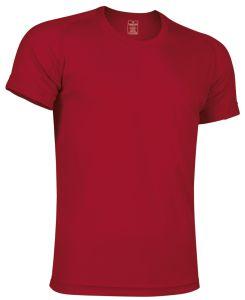 camiseta tecnica roja