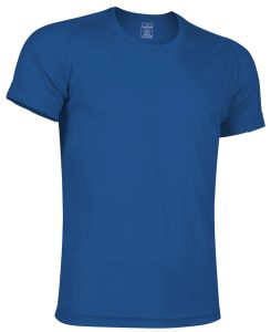camiseta tecnica azul royal