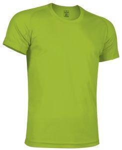 camiseta tecnica verde manzana