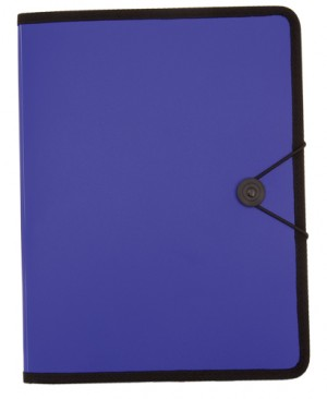 carpeta pvc azul royal