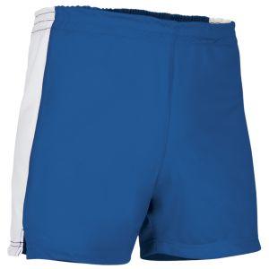 pantalon corto deportivo azul royal