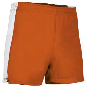 pantalon corto deportivo naranja