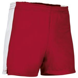 pantalon corto deportivo rojo