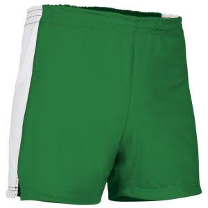 pantalon corto deportivo verde