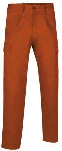 pantalon multibolsillos basico naranja