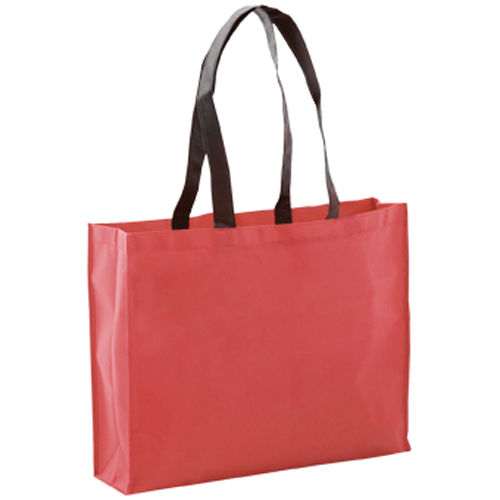 bolsa non woven grueso roja