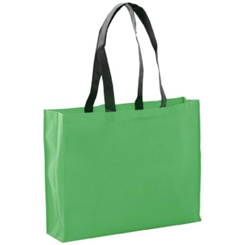 bolsa non woven grueso verde
