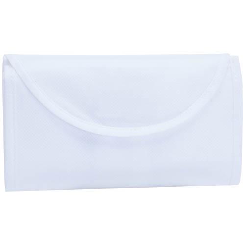Bolsa non Woven plegable blanca