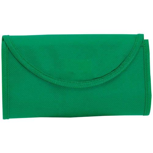 Bolsa non Woven plegable verde