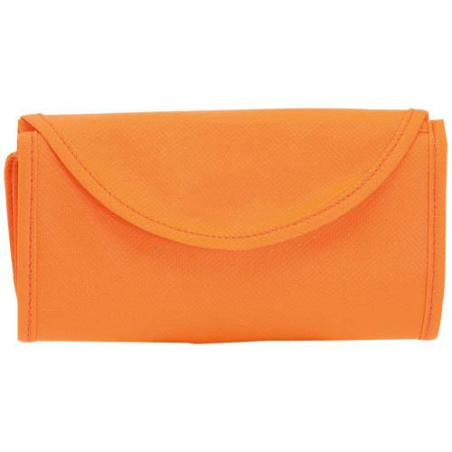 Bolsa non Woven plegable naranja