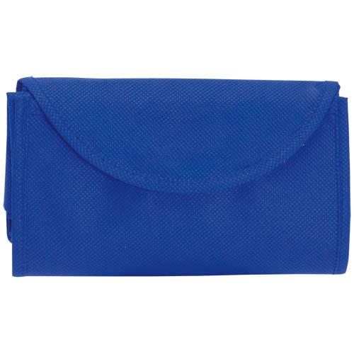 Bolsa non Woven plegable azul