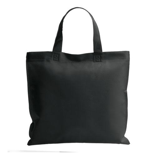 bolsa non woven asa corta negra
