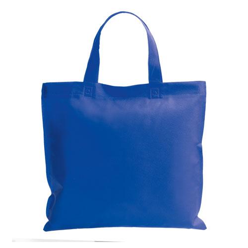 bolsa non woven asa corta azul