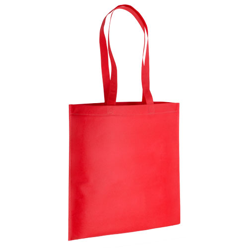 bolsa non woven asas largas termosellada roja