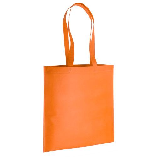 bolsa non woven asas largas termosellada naranja