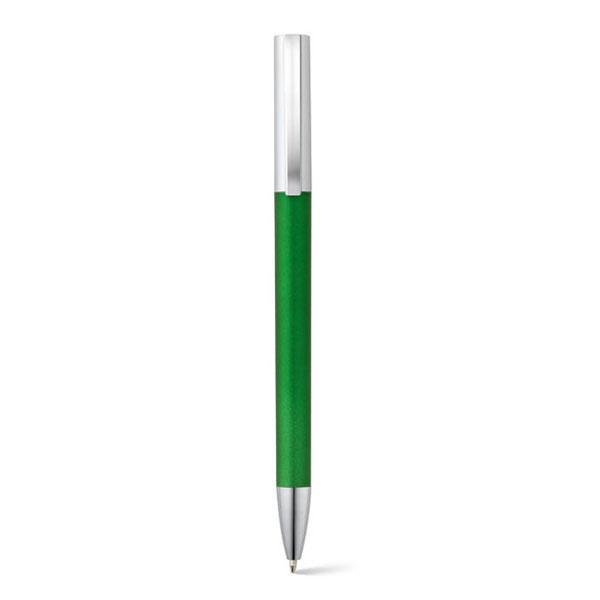 bolígrafo plástico color metalizado verde