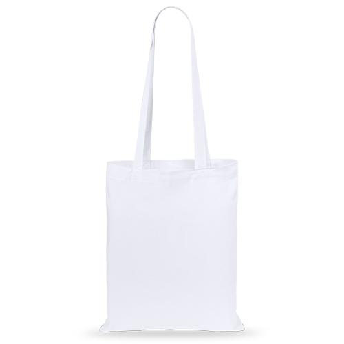 Bolsa algodón color blanco