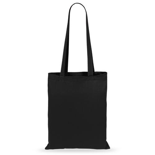 Bolsa algodón color negra